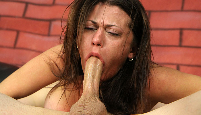 Carmen Ross gets face fucked on LatinaThroats.com